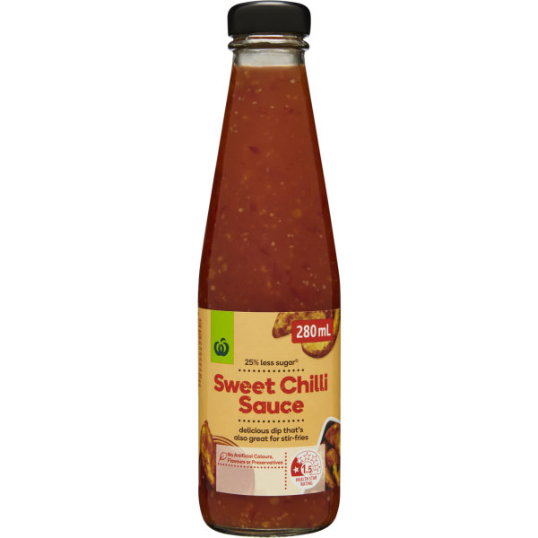 Woolworths Sweet Chilli Sauce 280ml Bunch