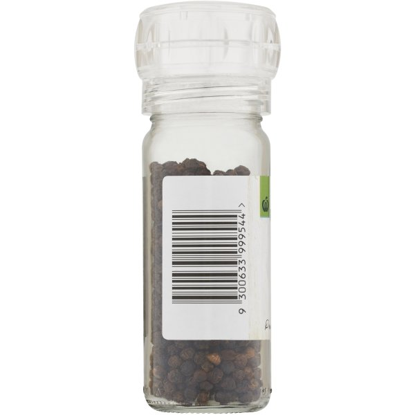 Woolworths Pepper Grinder Black Peppercorn 50g Bunch