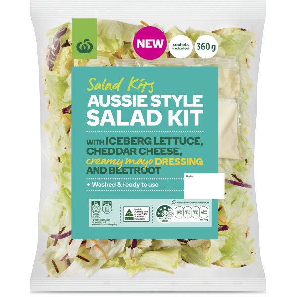 Woolworths Aussie Salad Kit 360g | bunch